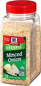 McCormick Minced Onion (Organic, Non-GMO, Kosher), 10.3 oz