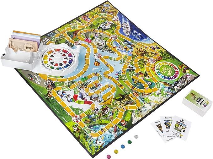 Hasbro Gaming 04000 - The Game of Life, Juego de Tablero (versión en inglés): Amazon.es: Juguetes y juegos