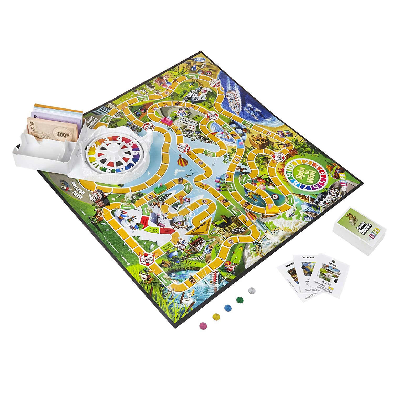 The Game Of Life Hasbro Amazon Co Uk Toys Games