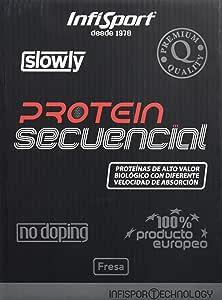 Infisport Protein Secuencial Fresa - 1000 gr: Amazon.es ...