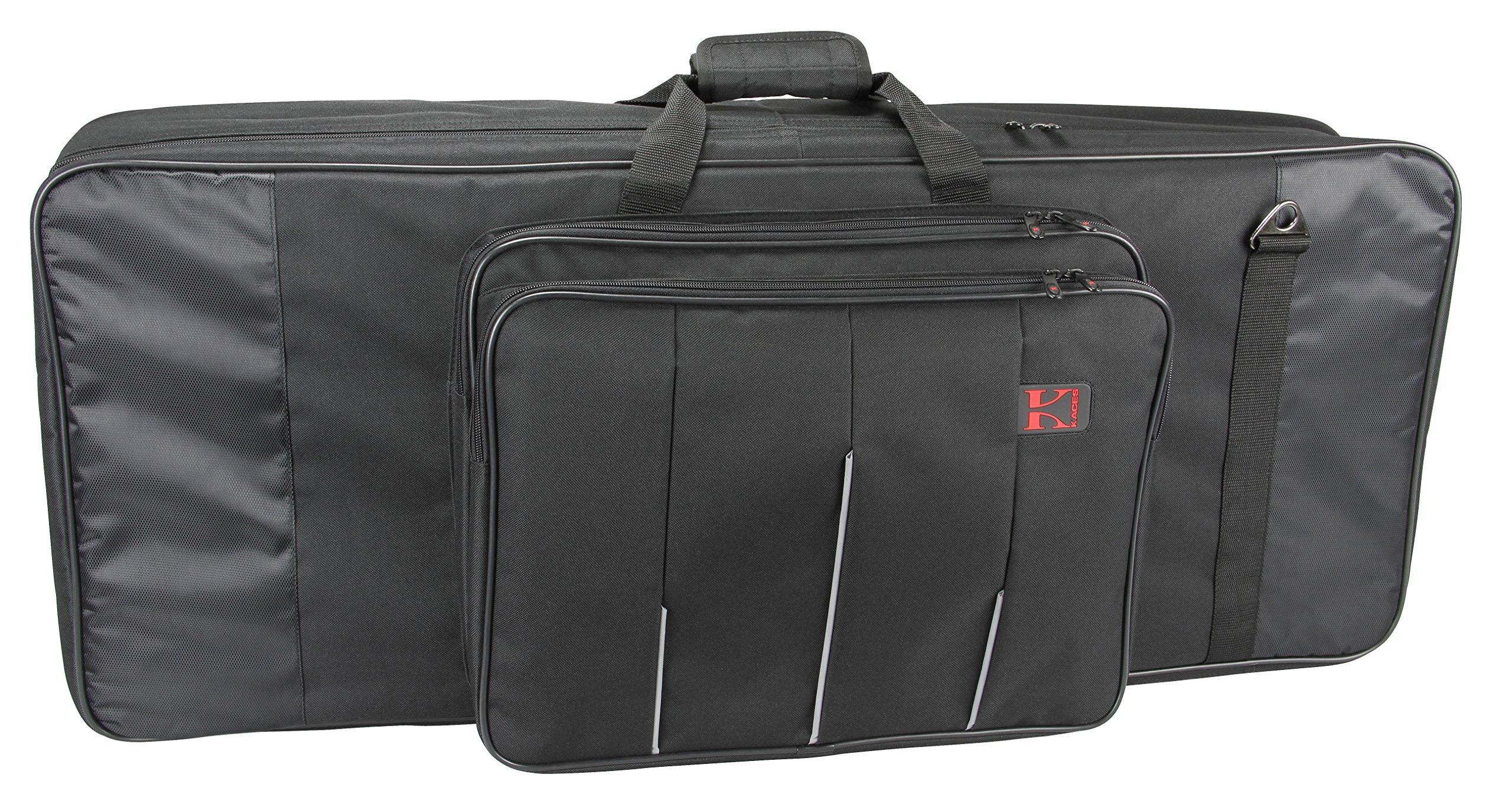 Kaces 6-KB Xpress Series Keyboard Bag, 61-Key, small (37'' x 15'' x 6.5'')