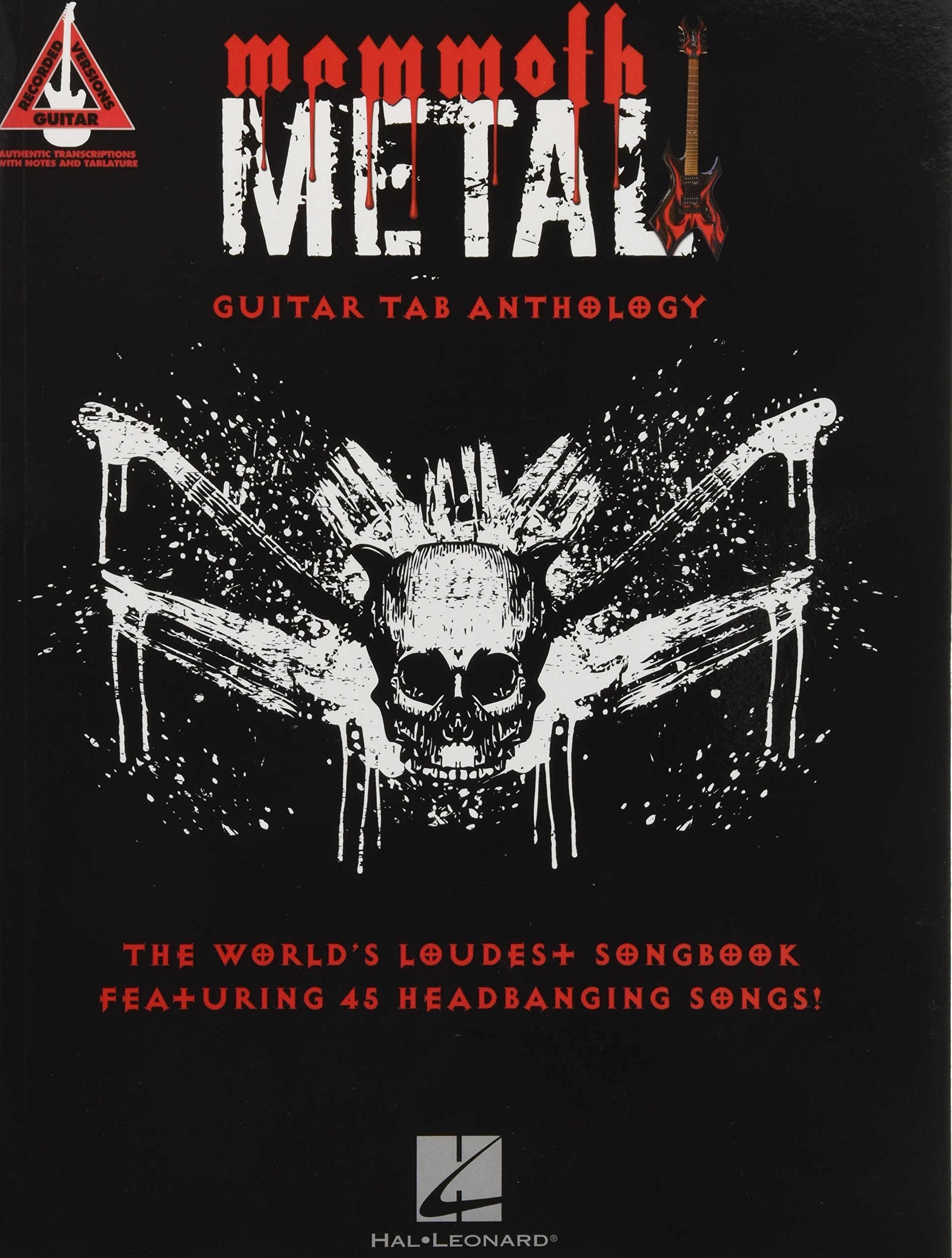 Amazon Mammoth Metal Guitar Tab Anthology The Worlds Loudest