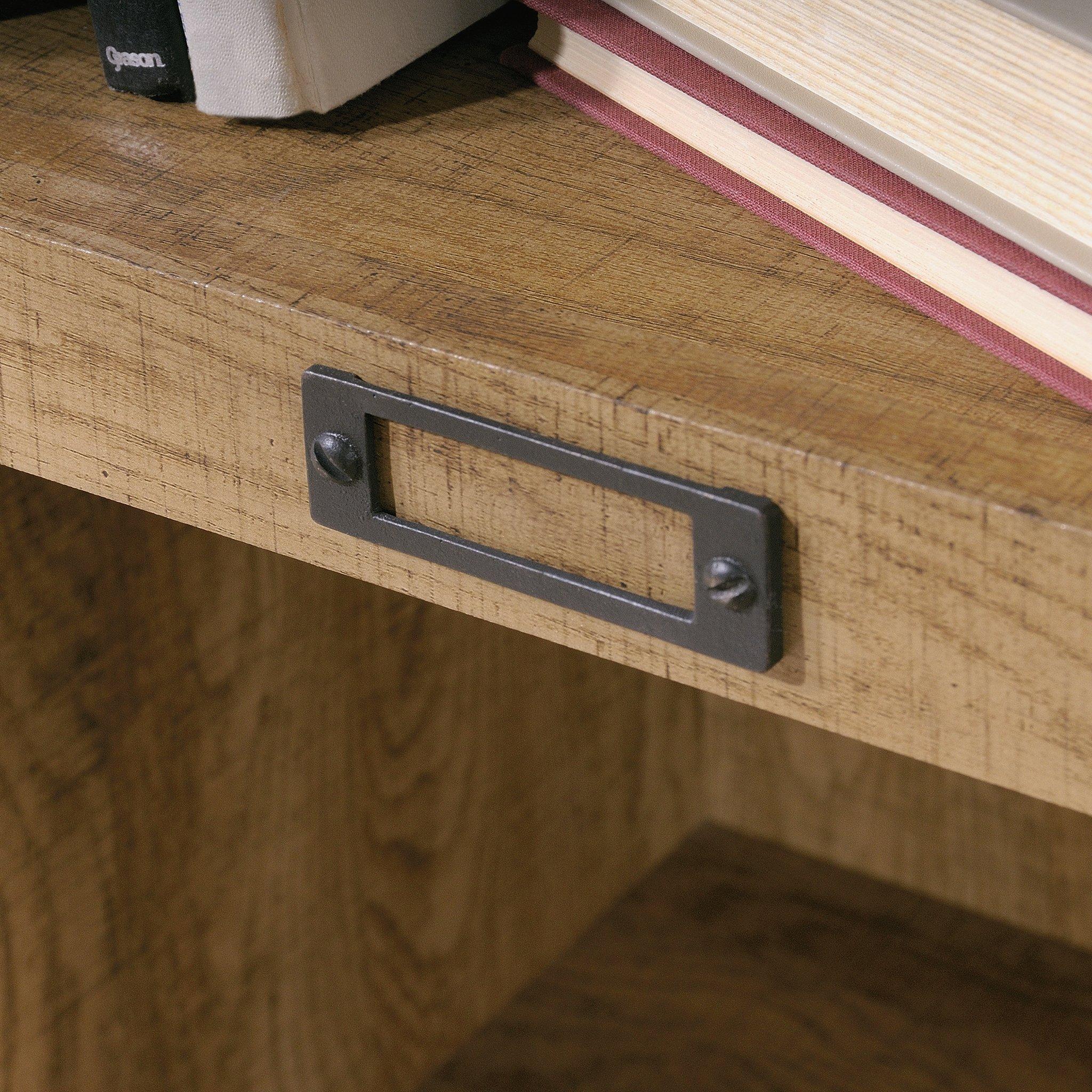 Sauder 414725 Barrister Lane Bookcase, L: 35.55'' x W: 13.50'' x H: 75.04'', Scribed Oak finish by Sauder (Image #6)