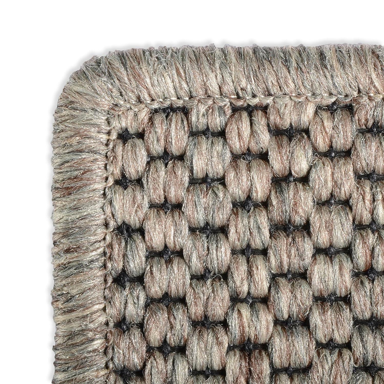 Casa pura Teppich Läufer in Sisal Sisal Sisal Optik   Flachgewebe mit Tiger-Eye-Struktur   Ausgezeichnet mit Gut-Siegel   Kombinierbar mit Stufenmatten (Taupe, 80x500 cm) 7dc3d7
