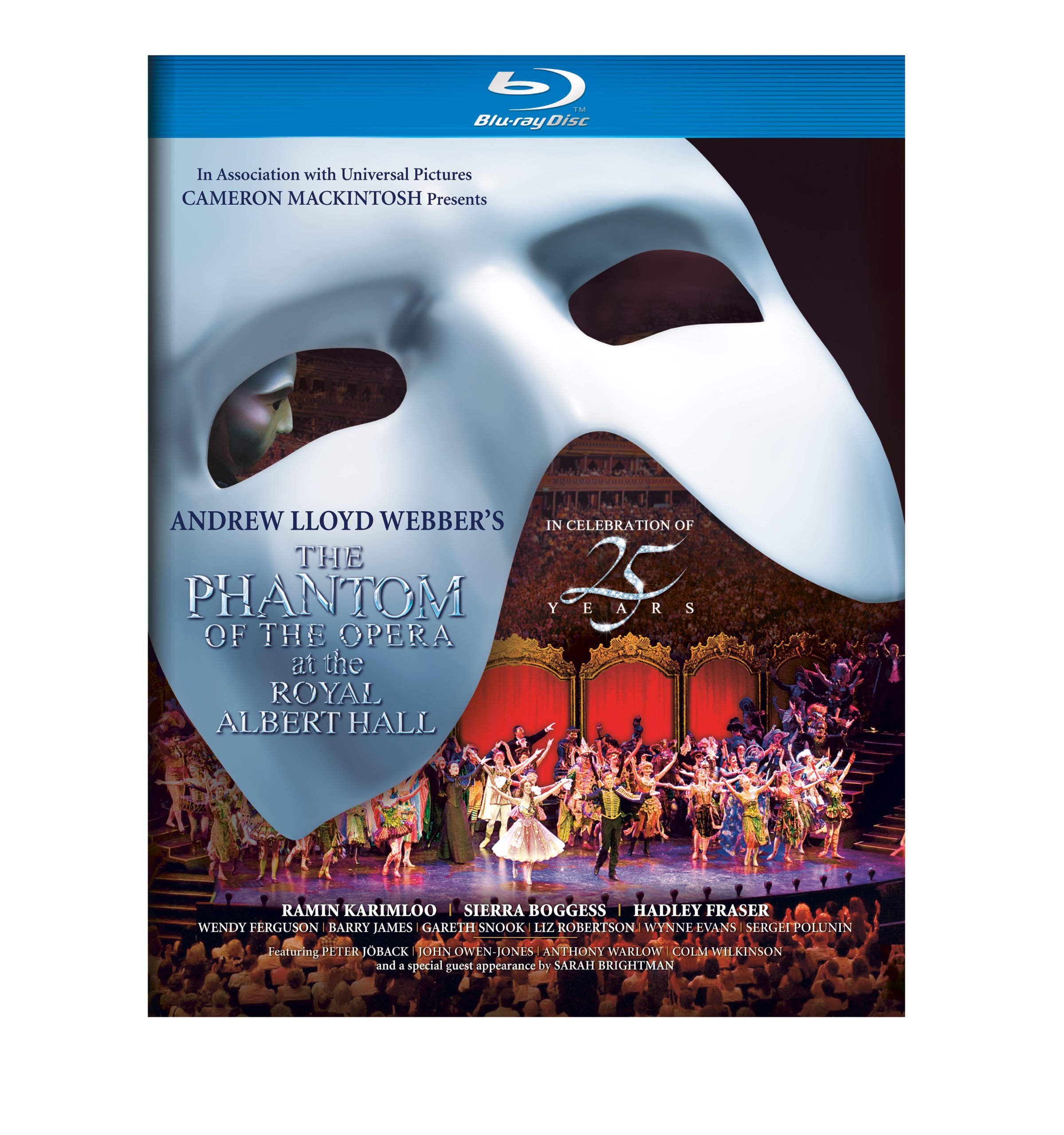 Blu-ray : The Phantom of the Opera at the Albert Hall (Digital Theater System, AC-3, , Slipsleeve Packaging, Widescreen)