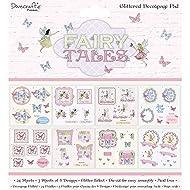 Dovecraft Premium Fairy Tales FSC 8x8 Decoupage Pad, Multicolour, 1