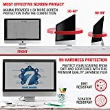 Akamai 23-24 Inch Acrylic Removable Monitor Privacy Screen - LCD Blackout Security Filter - Desktop Computer Protector
