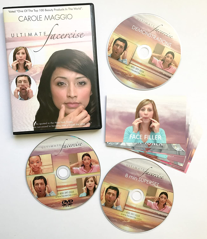 Carole Maggio Ultimate Facercise Amazon DVD & Blu ray