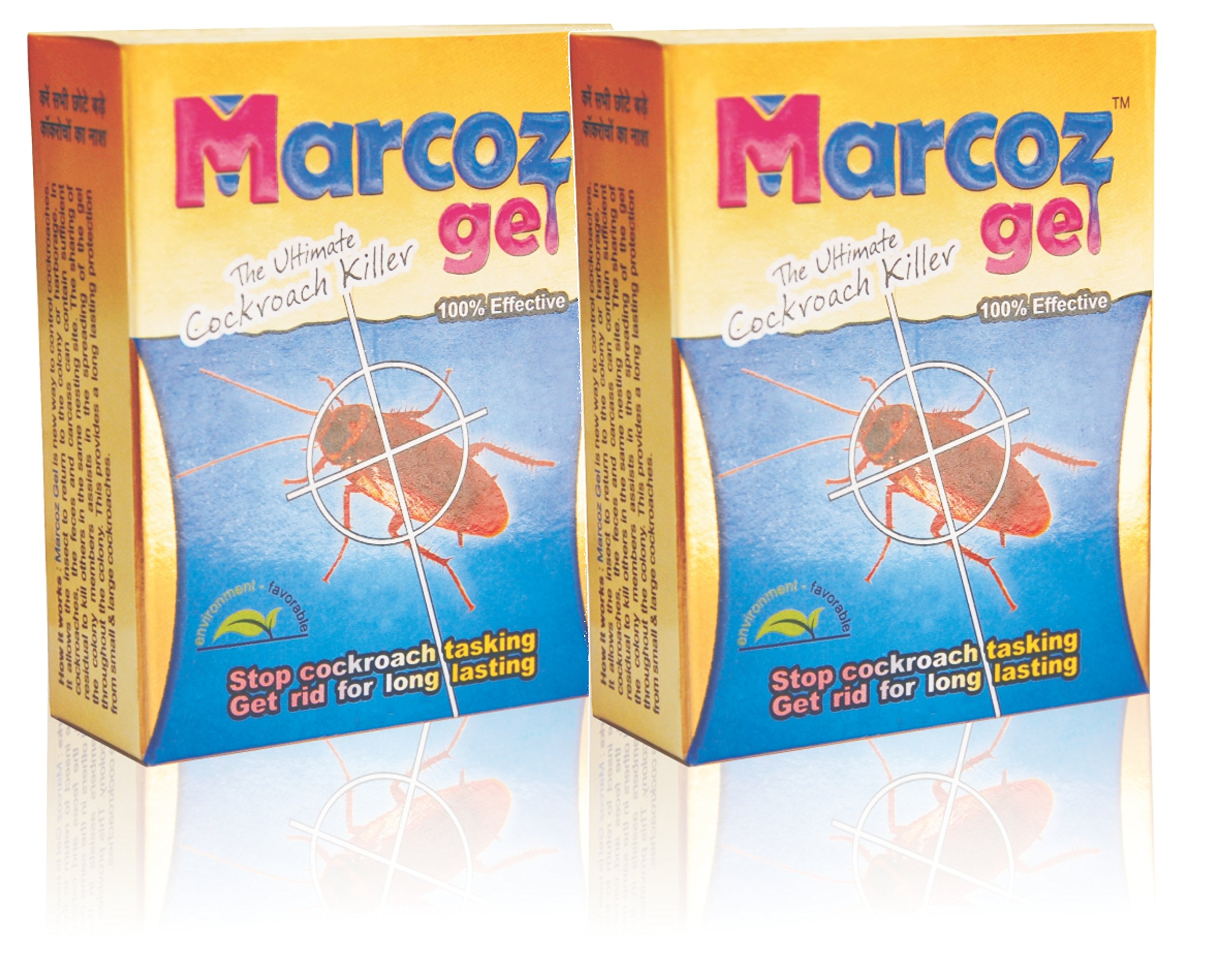 "Marcoz Gel Ultimate Cockroach Killer (Set of 2x10ml)""Guaranteed Effect"" Powerfull product image"