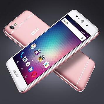 BLU Grand MAX -Smartphone Libre Doble SIM -Rosa Dorado: Amazon.es ...
