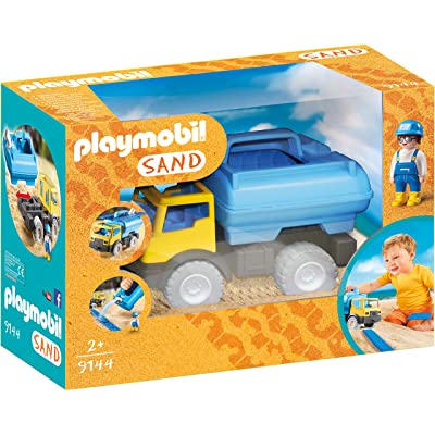 PLAYMOBIL Water Tank Trucked: Toys & Games