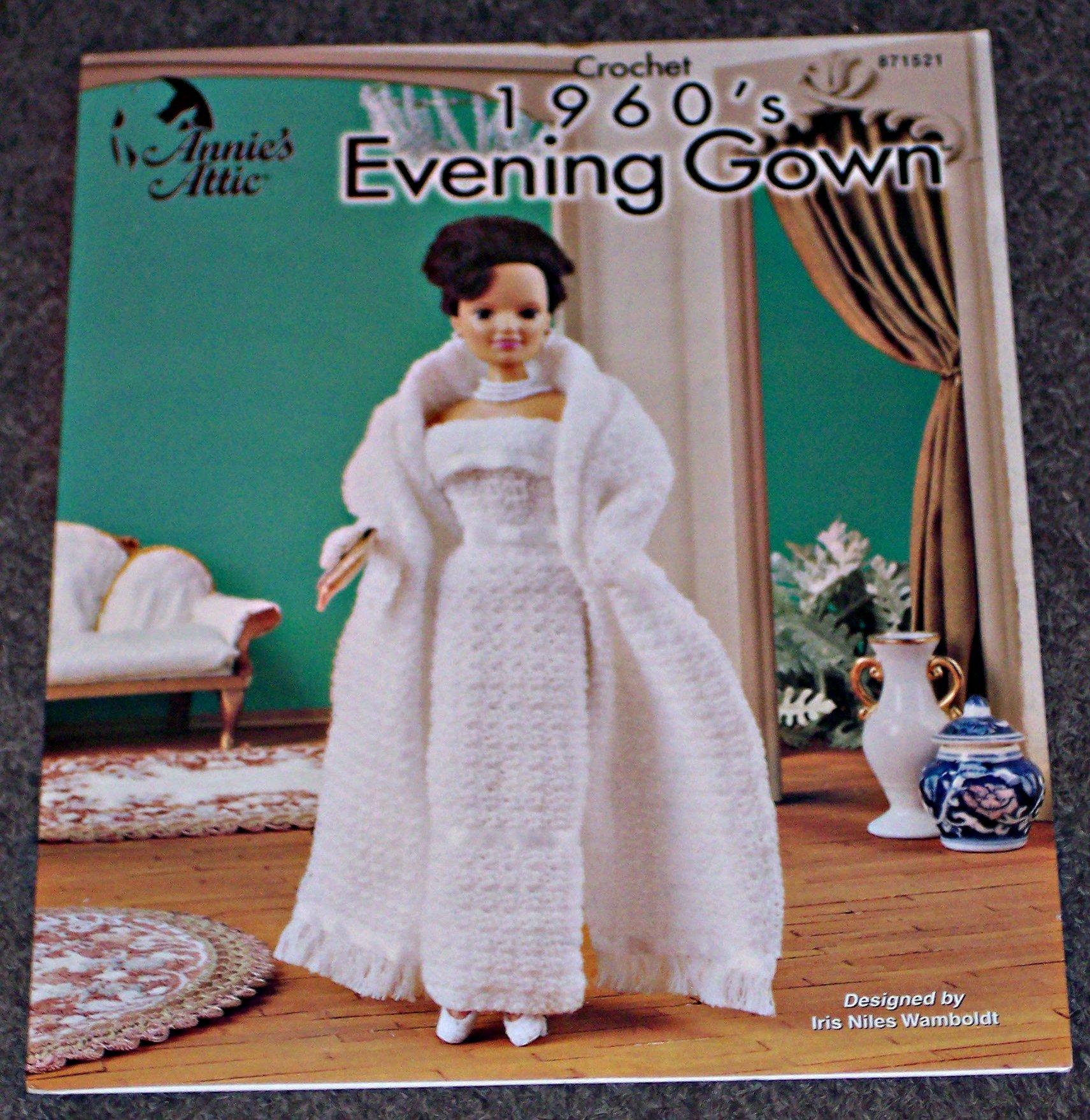 Crochet 1960\'s Evening Gown (871521) Designed by Iris Niles Wanboldt ...