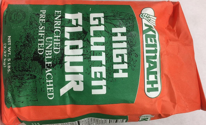 Amazon com : Kemach High Gluten Flour Enriched Unbleached