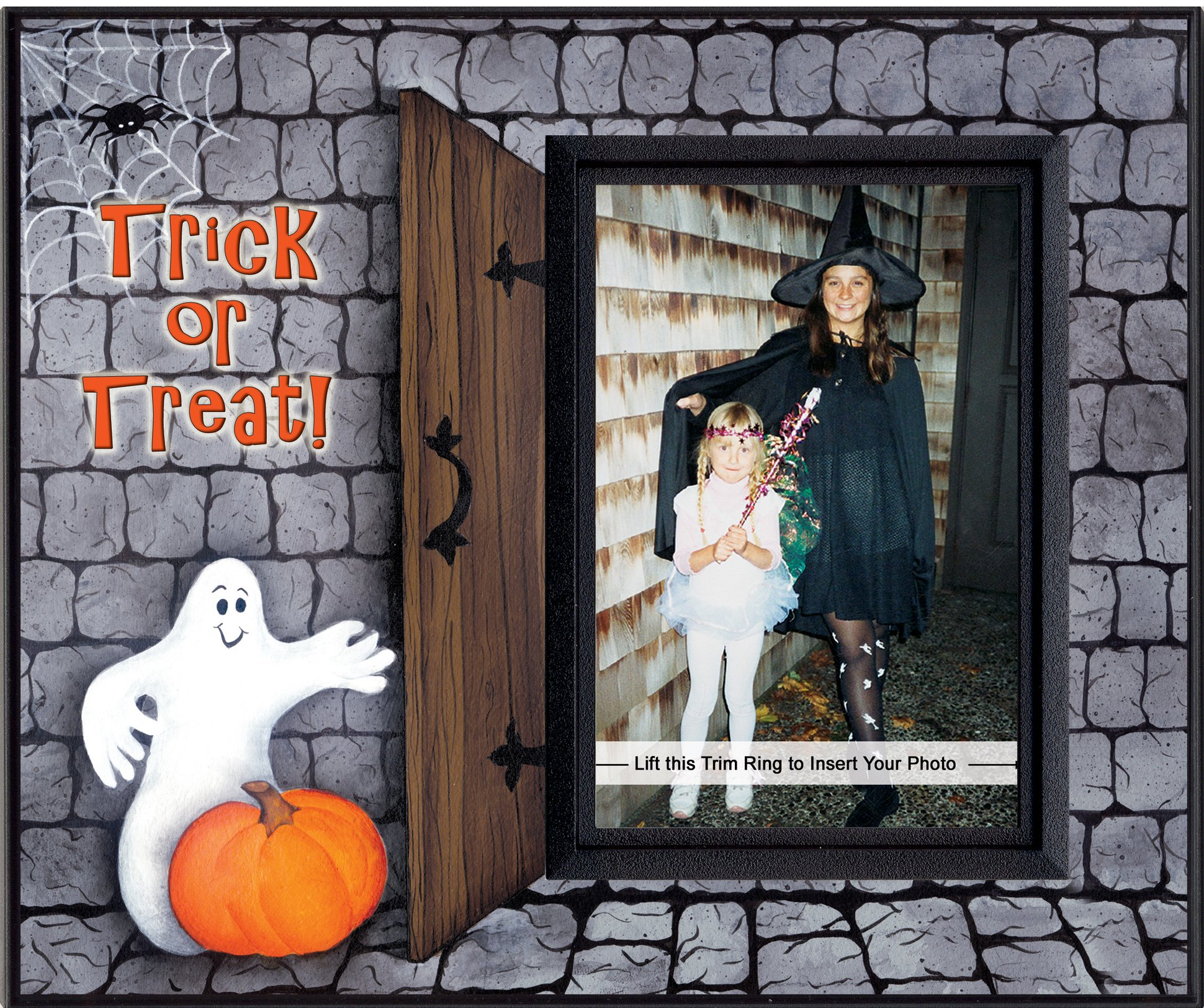 Trick or Treat Halloween Picture Frame Gift