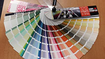 Mazzetta Colori Macromie Campionatura Di 1270 Tinte