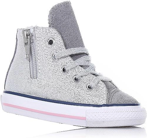 Converse , Chaussures Premiers Pas pour bébé (Fille) Gris Gris