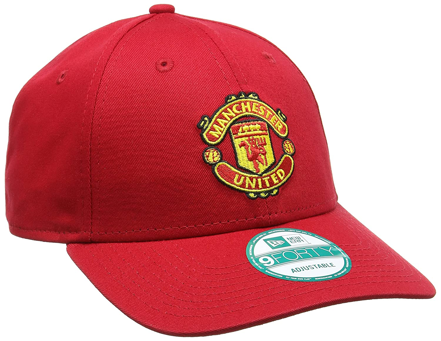 f70a3448500 Amazon.com  New Era Manchester United 9Forty Cap - Red  Clothing