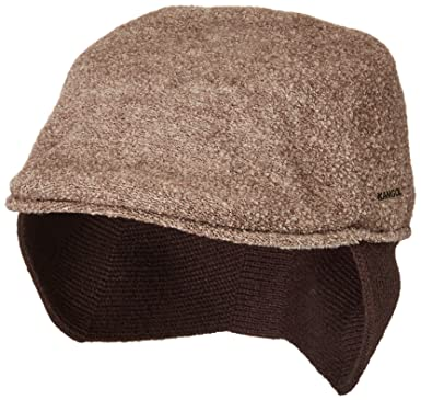 b870ae845f8 Kangol Men s Boiled Wool Earlap 507 at Amazon Men s Clothing store