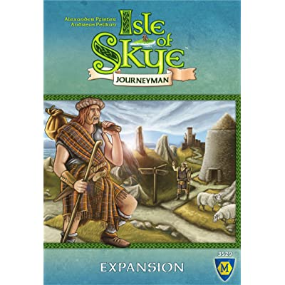 Mayfair Games Isle of Skye: Journeyman Expansion: Toys & Games