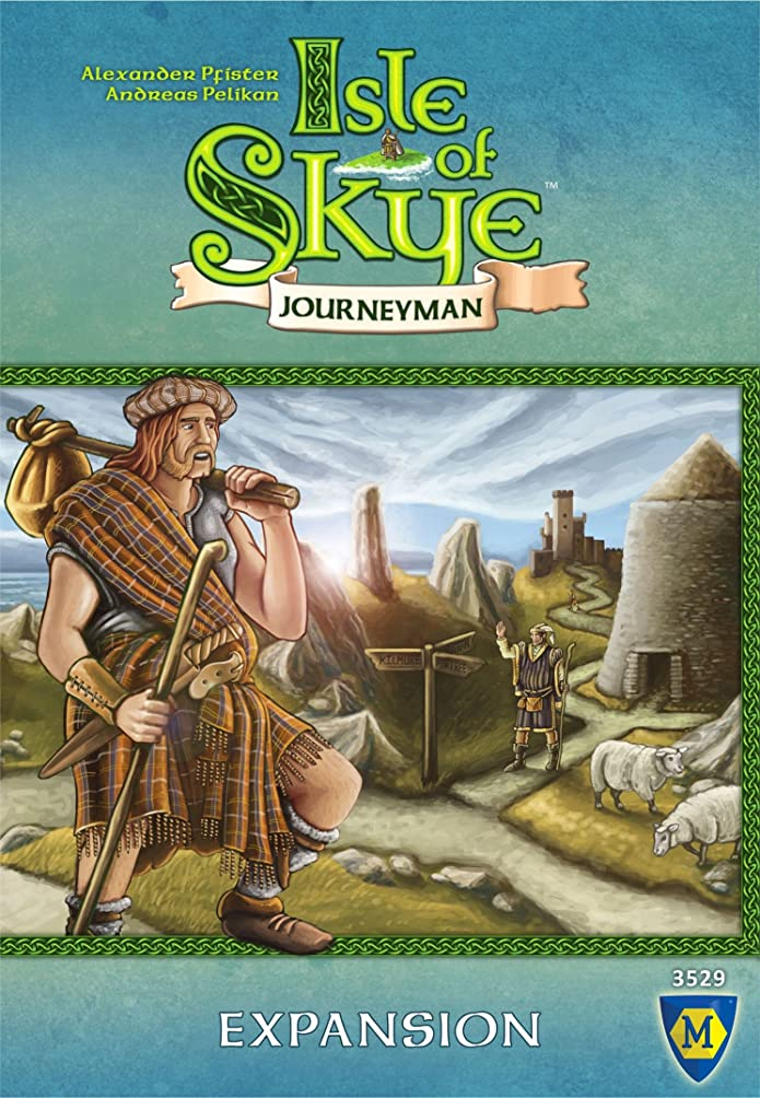 Lookout Isle of Skye: Journeyman Expansion Board Game