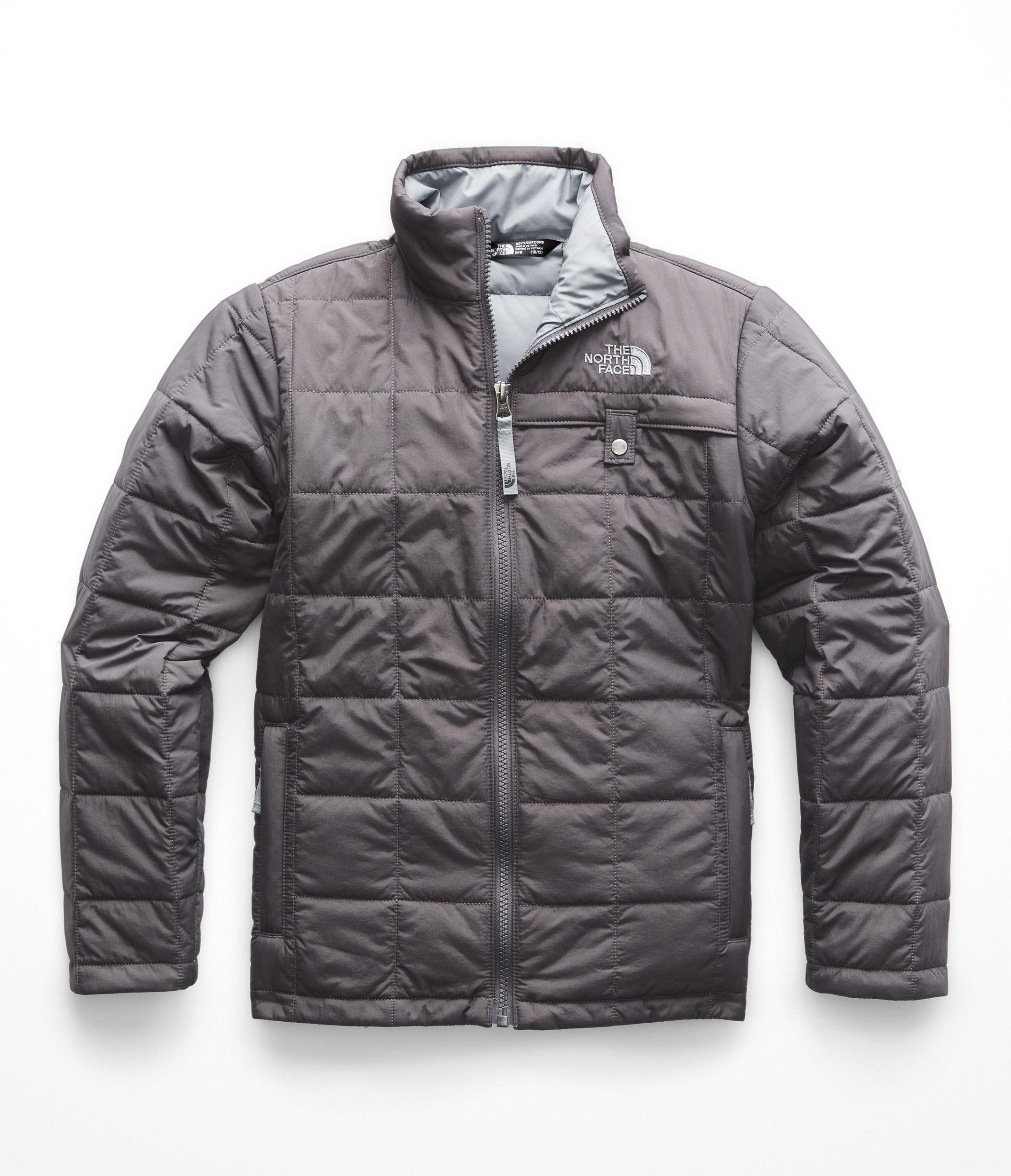 The North Face Boys Harway Jacket - Graphite Grey & Mid Grey - M