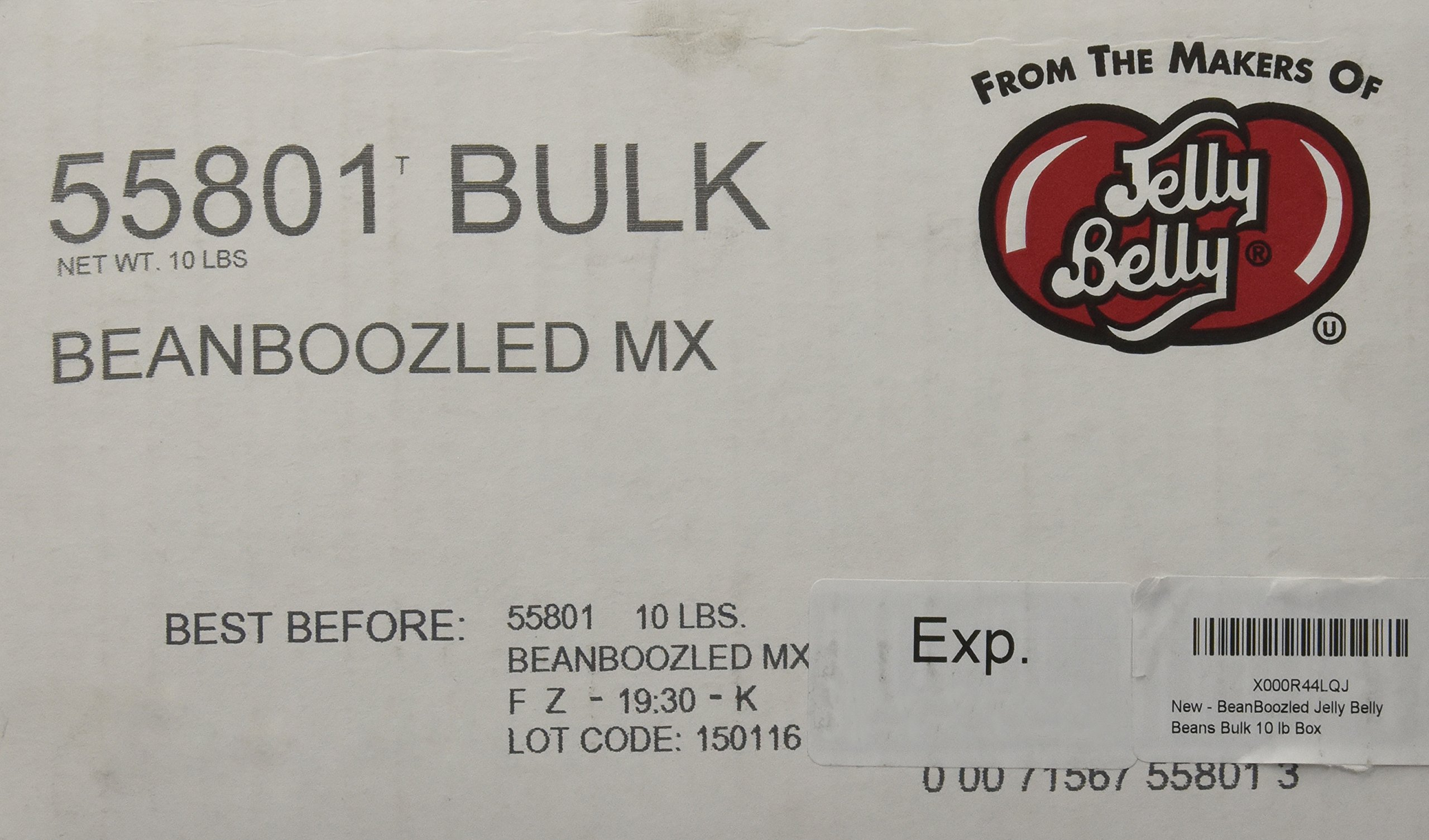 BeanBoozled Jelly Belly Beans Bulk 10 lb Box by Jelly Belly
