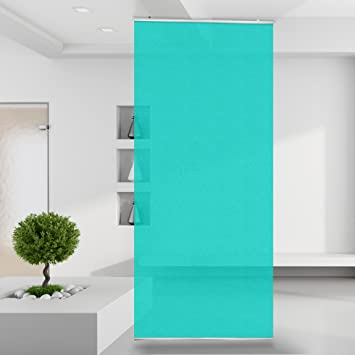 Raumteiler Turkis Gardine Vorhang Wand Stoff Mauer Bild Zimmer