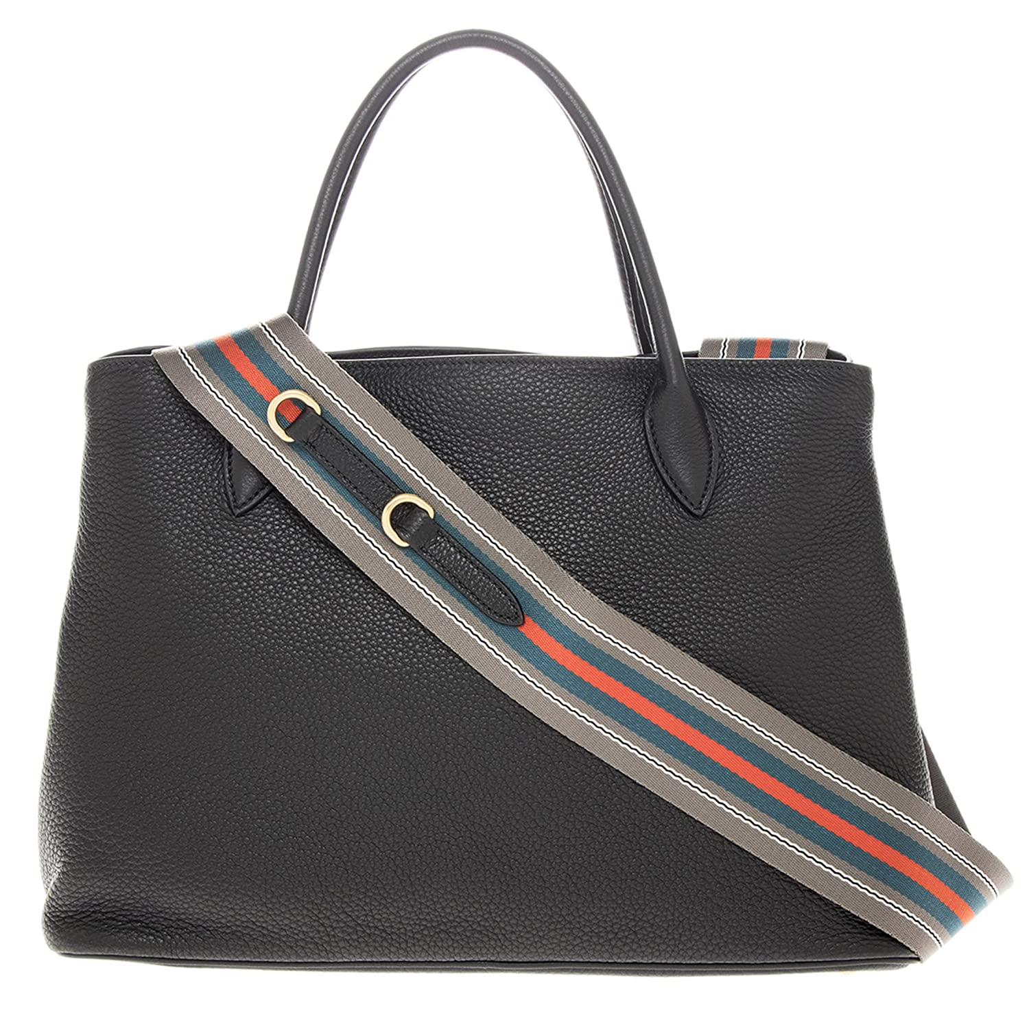 193be2f29c51 Amazon.com: Prada Women's Grained Leather Tote Black: Clothing