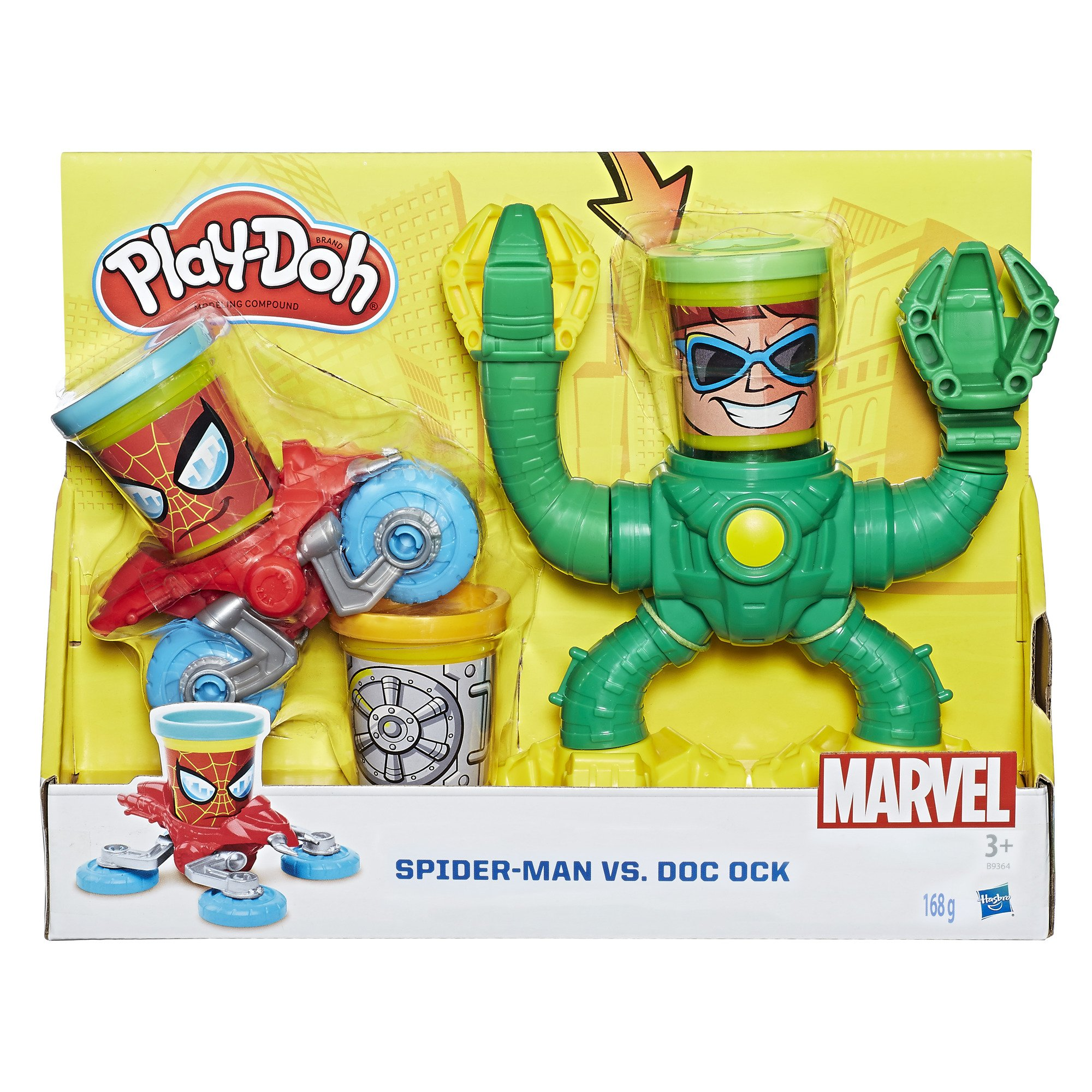 Play-Doh B9364EU5 Marvel Spider-Man vs Doc Ock Dough by Play-Doh