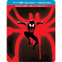Spider-Man: Into the Spider-Verse (Steelbook) (Blu-ray 3D + Blu-ray + Bonus Disc)
