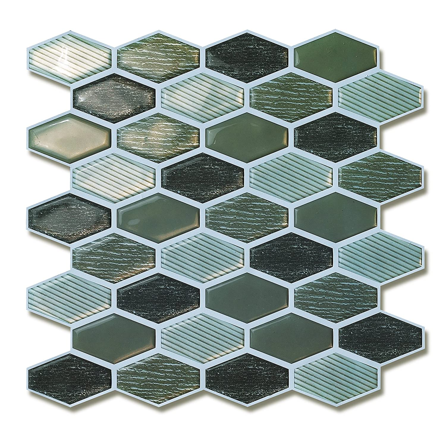 Amazon.com: Peel and Stick Backsplash Wall Tile for Home Decorative ...