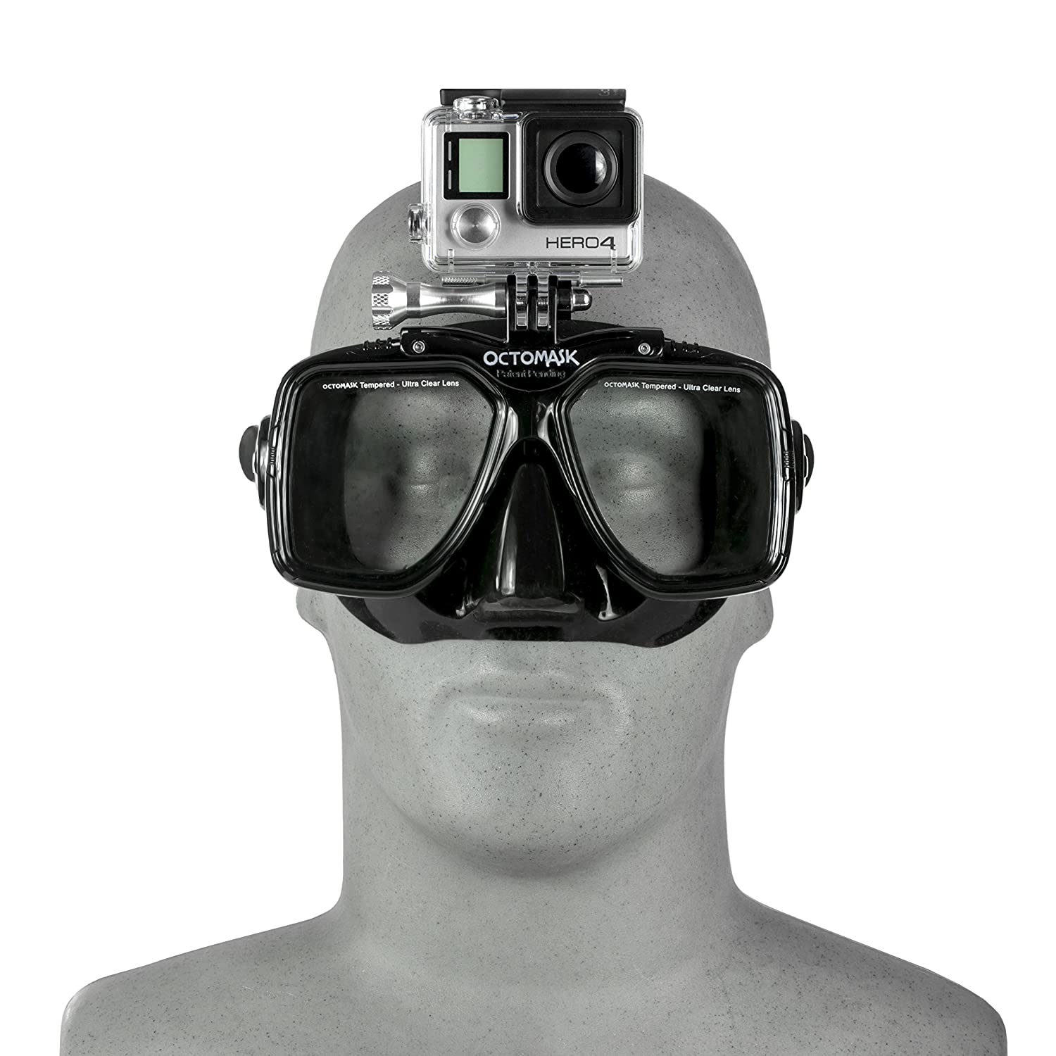 d9ef96647fdc Amazon.com   Hero5 and Session Dive Mask for Scuba Diving and Snorkeling  compatible with GoPro   Go Pro   Sports   Outdoors
