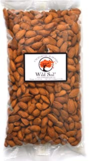 product image for Wild Soil Almonds - Distinct and Superior to Organic, Patent Pending Technology that Regenerates Soil, Herbicide Free, Beyond Beef High Protein, Steam Pasteurized, Probiotic, Raw 1.5LB Bag, Emergency/Survival Food