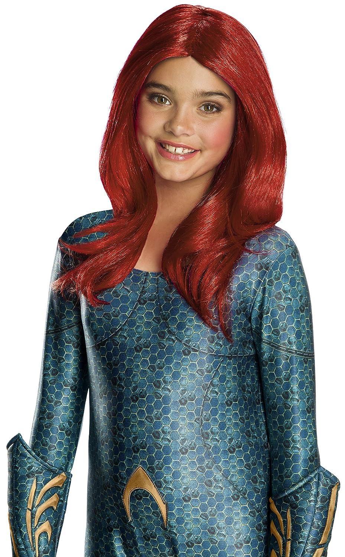 Girls Aquaman Movie Mera Child's Wig Rubie's 38246_NS