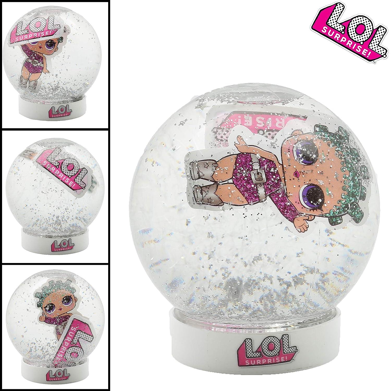 L.O.L Surprise Boule de Neige Globe Glitter Poup/ées Lol Confetti Pop Loisirs Cr/éatifs pour Fille Bricolage pour Enfants