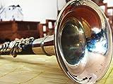 Ebony High Key Suona Professional Hand-made Chinese Folk Wind Musical Instrument Suona