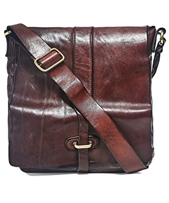 online retailer usa cheap sale free shipping Amazon.com | Campomaggi Men's Leather Shoulder Bag One Size ...