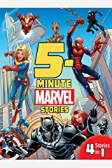 5-Minute Marvel Stories: 4 Stories in 1! (5-Minute Stories) Kindle Edition