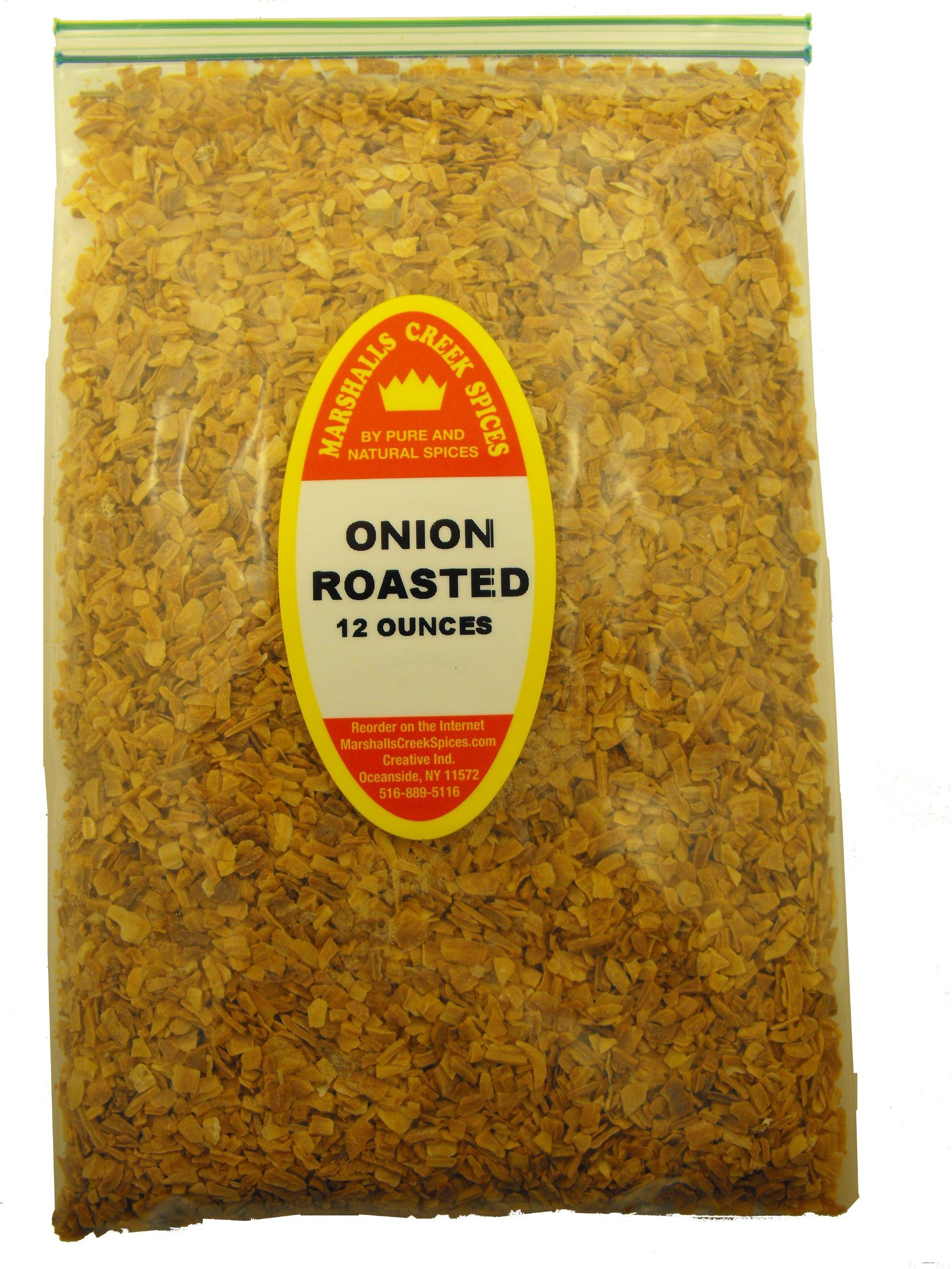 XL REFILL Marshalls Creek Spices Roasted Onion Chopped Seasoning, 12 Ounce