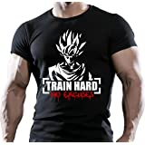 Goku Train Hard No Excuses Bodybuilding Motivation T-shirt