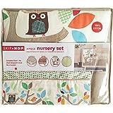 Skip Hop 4 Piece Bumper-free Nursery Set, Treetop Friends