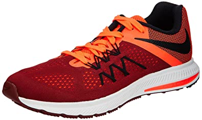 639f14d9808 Image Unavailable. Image not available for. Colour  Nike Men s Zoom Winflo  3 Team Red Black Ttl Crimson Wht Running Shoe