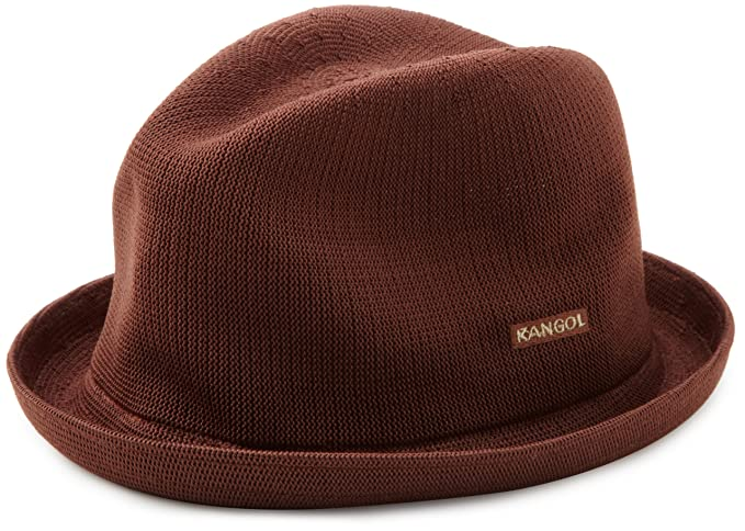 Amazon.com  Kangol Little Boys  Kids Tropic Player Hat  Fedoras  Clothing a8bb1045af32