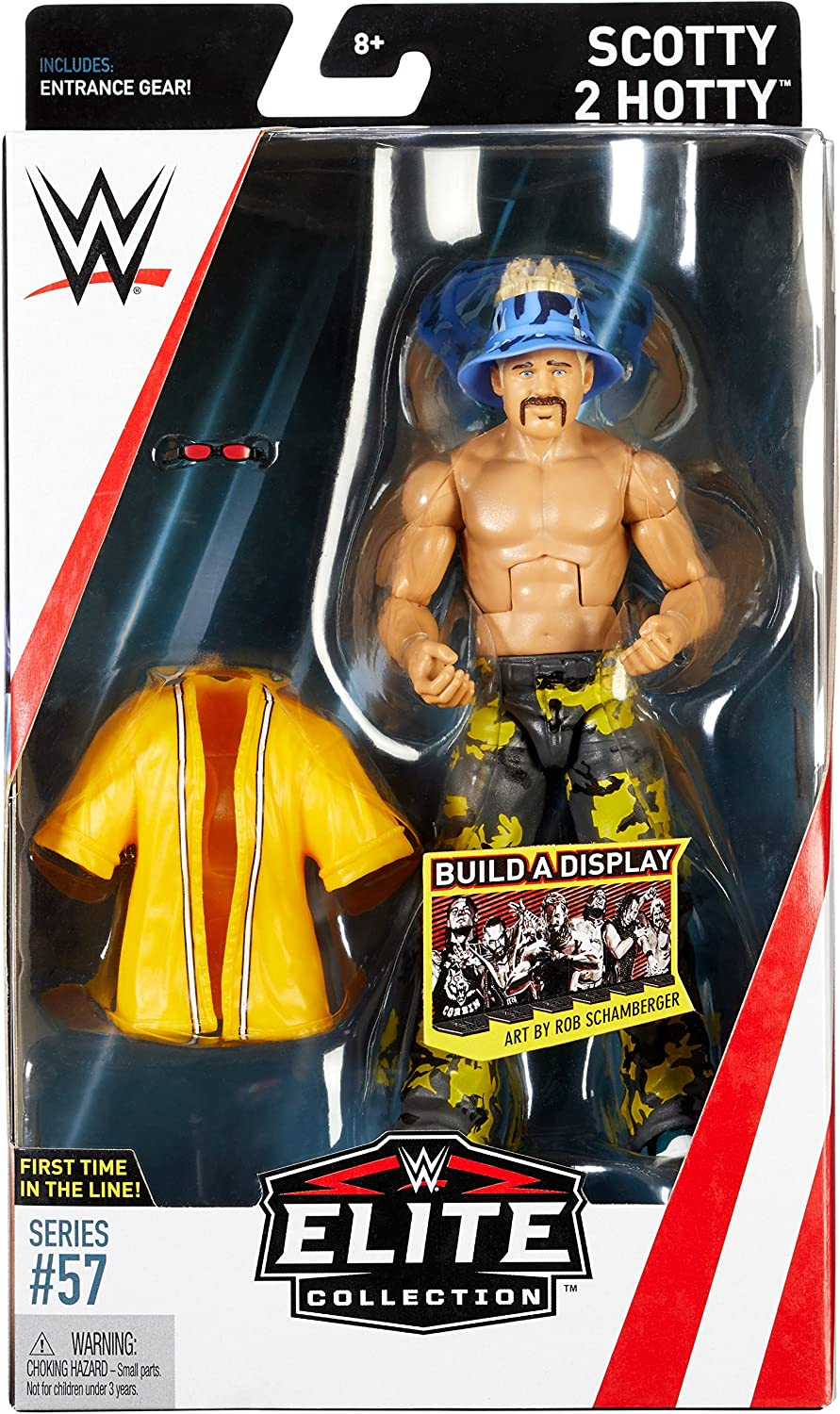 WWE Elite Collection Series # 57 Scotty 2 Hotty Action Figure Mattel FMG49