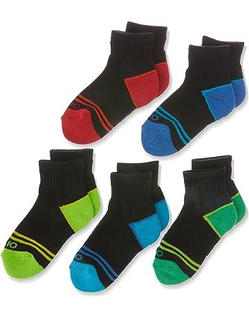 c835f4341 Rio Kids Cotton Blend Active Quarter Crew Socks (5 Pack)