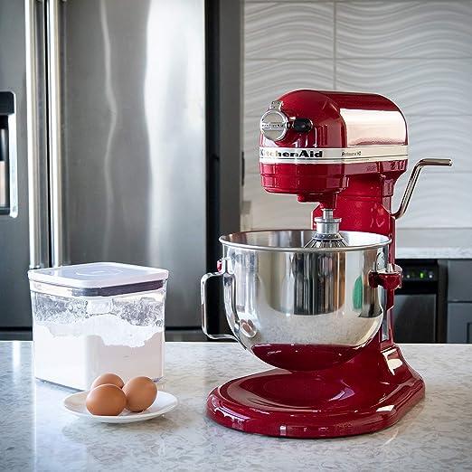 KitchenAid Professional HD Stand Mixer- Red by KitchenAid: Amazon ...