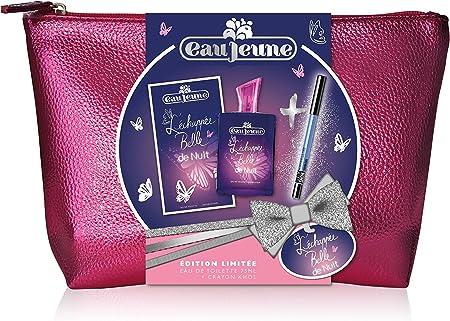 Eau Jeune neceser Eau de Toilette la Echappée Belle de nuit con Liner color show Beauty Blue: Amazon.es: Belleza