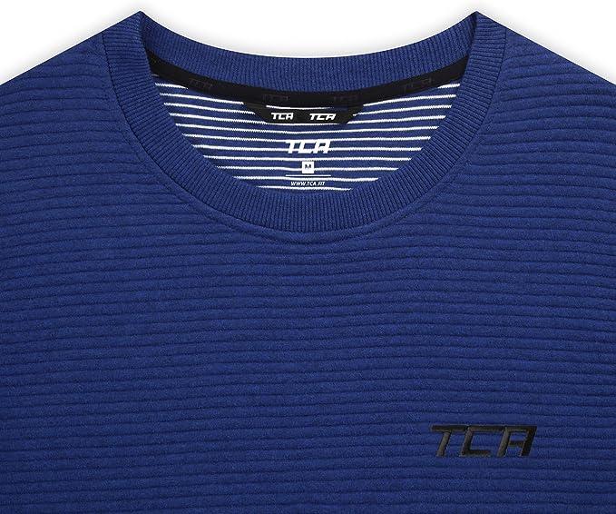 TCA Homme Rapid Quickdry Pantalon de Sport Fusel/é avec Poches /à Fermeture /Éclair