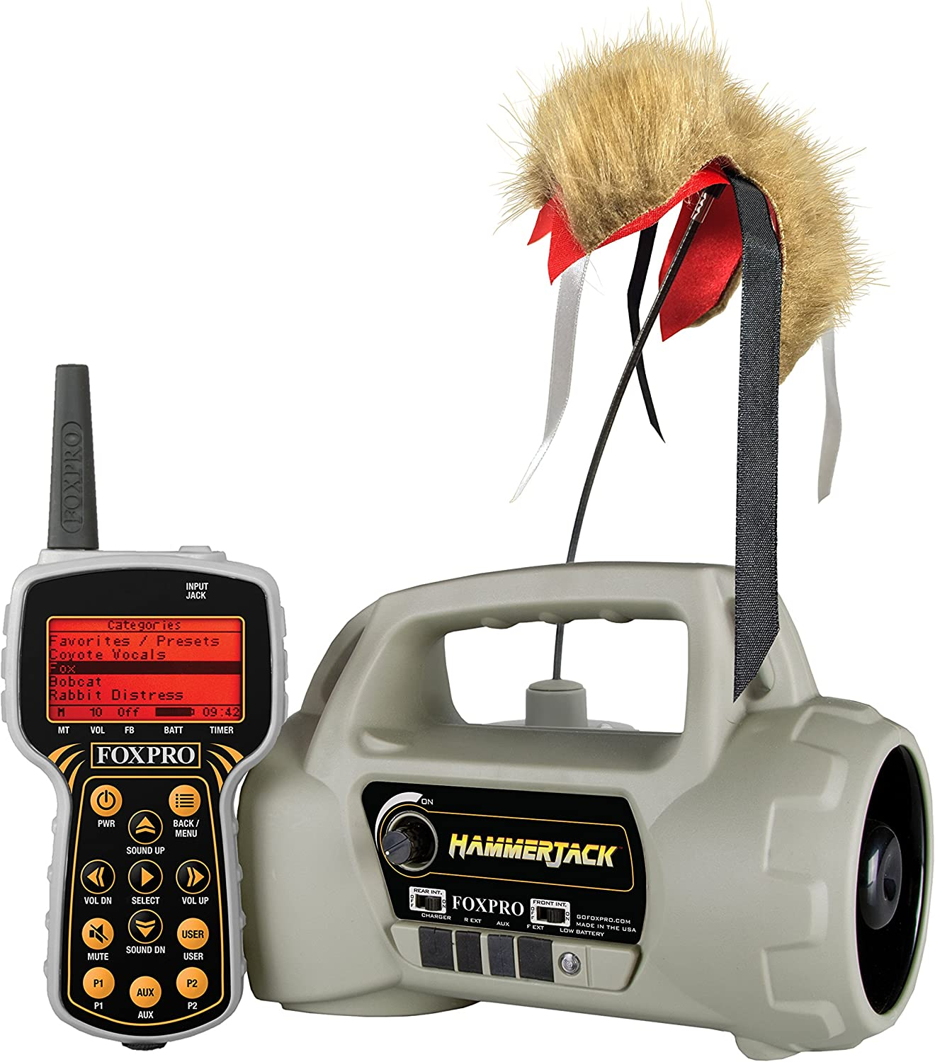 New Foxpro Hammer Jack Predator Call and Lure Package