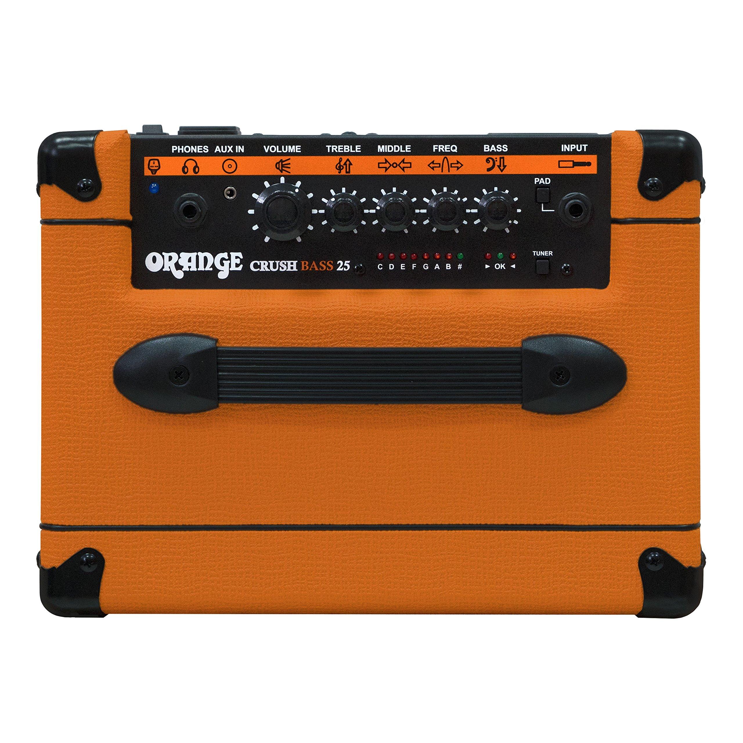 Orange Crush Bass 25W Bass Guitar Combo Amp, Orange by Orange Amps (Image #4)